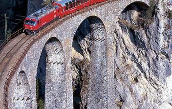 Viadukt Landwasser